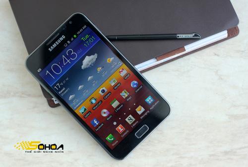 Phu kien iPhone - Galaxy Note bắt đầu cập nhật Android 4.0