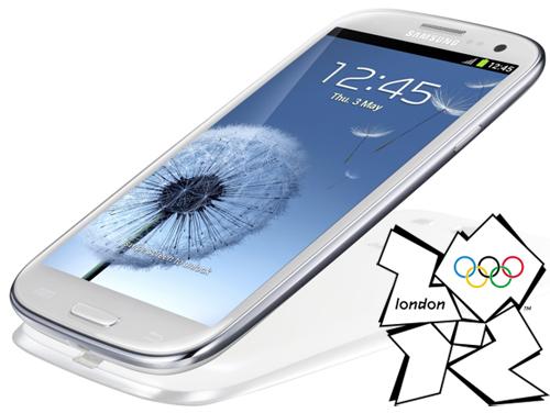 Phu kien iPhone - Samsung Galaxy SIII là điện thoại của Olympic 2012, bản đặc biệt có Visa payWave