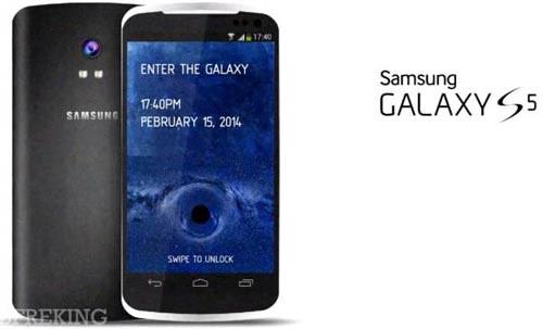 Phu kien iPhone - Tháng 2/2014 Samsung Galaxy S5 với VXL 8 nhân trình làng