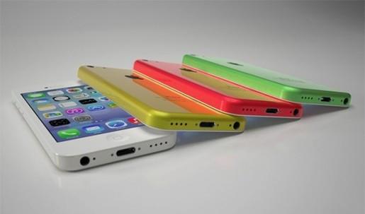 Phu kien iPhone - Mức tiêu thụ của iPhone 5c bắt đầu đuổi kịp iPhone 5s