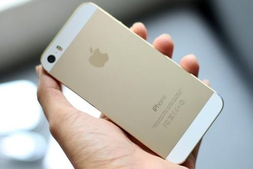 Phu kien iPhone - Sự giảm giá không hề nhẹ của iPhone 5s màu vàng đồng tại Việt Nam