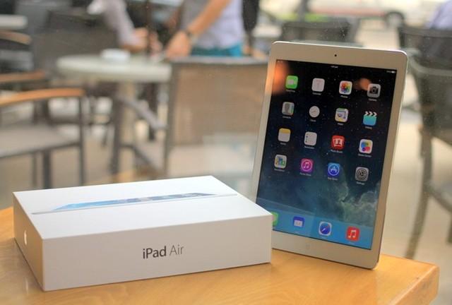 Phu kien iPhone - Đánh giá iPad Air - những đánh giá đầu tiên về iPad Air tại Việt Nam