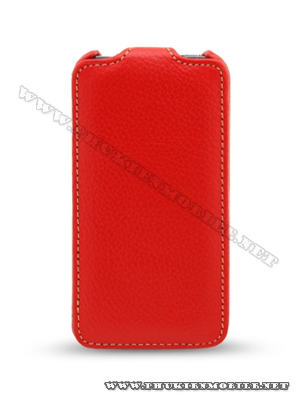 Bao da iPhone 4 Melkco Leather Case - Jacka Type (Màu đỏ) 1