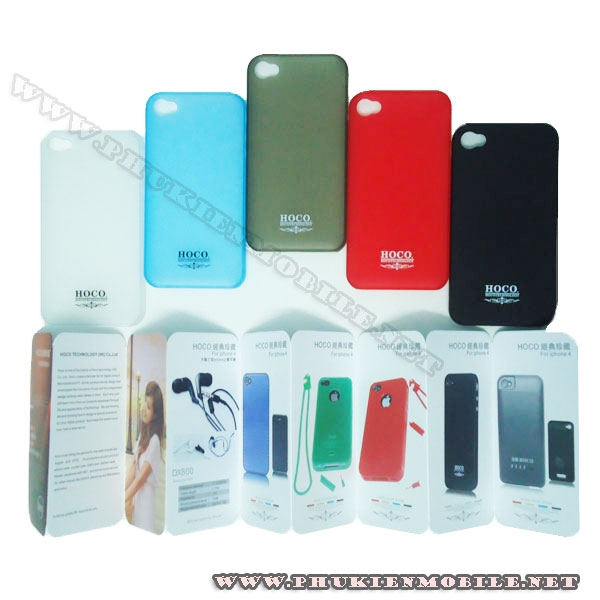 Ốp lưng iPhone 4 Hoco Case 6