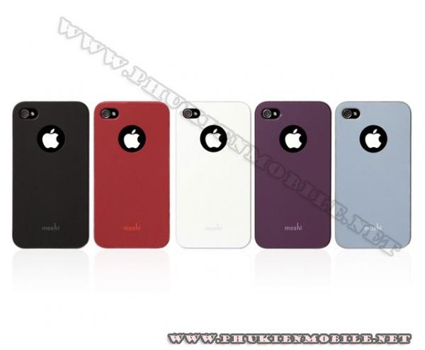Ốp lưng iPhone 4 Moshi iGlaze 4 XT (Xanh) 1