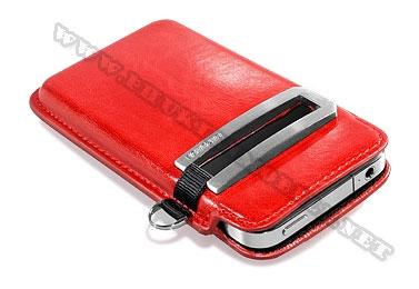 Bao cầm tay iPhone 4 Capdase Smart Pocket  (Đỏ) 1