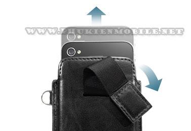 Bao cầm tay iPhone 4 Capdase Smart Pocket (Đen) 1