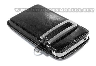 Bao cầm tay iPhone 4 Capdase Smart Pocket (Đen) 4
