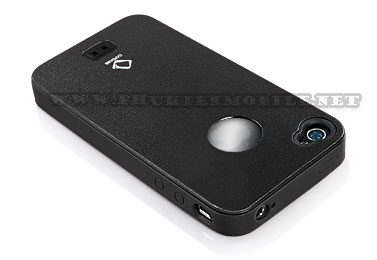 Ốp lưng iPhone 4 Capdase Alumor Metal Case (Đen) 2