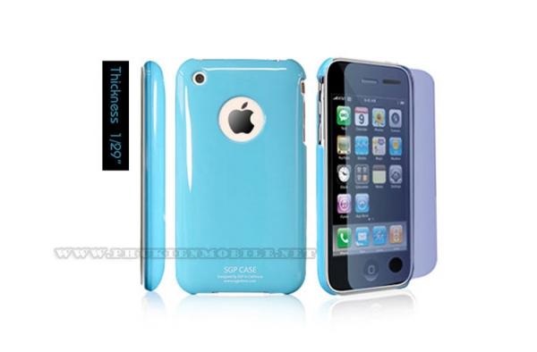 Ốp lưng iPhone 3 SGP Case (Xanh Dương) 1
