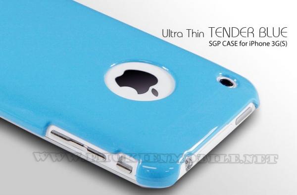 Ốp lưng iPhone 3 SGP Case (Xanh Dương) 2