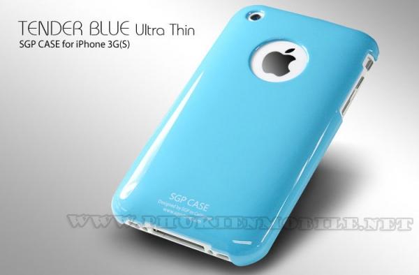 Ốp lưng iPhone 3 SGP Case (Xanh Dương) 3