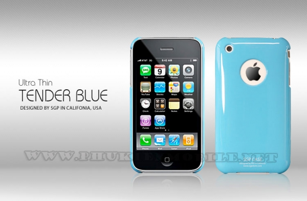 Ốp lưng iPhone 3 SGP Case (Xanh Dương) 4