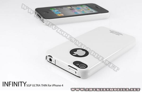Ốp lưng iPhone 4 SGP Case (Trắng) 1