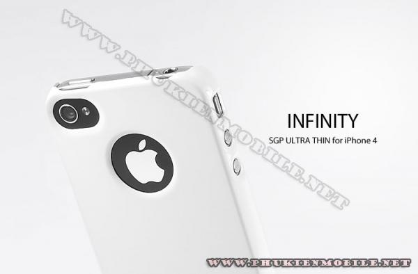 Ốp lưng iPhone 4 SGP Case (Trắng) 4