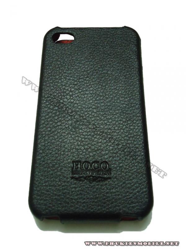 Bao da iPhone 4 Hoco Skin Case (Đen) 3