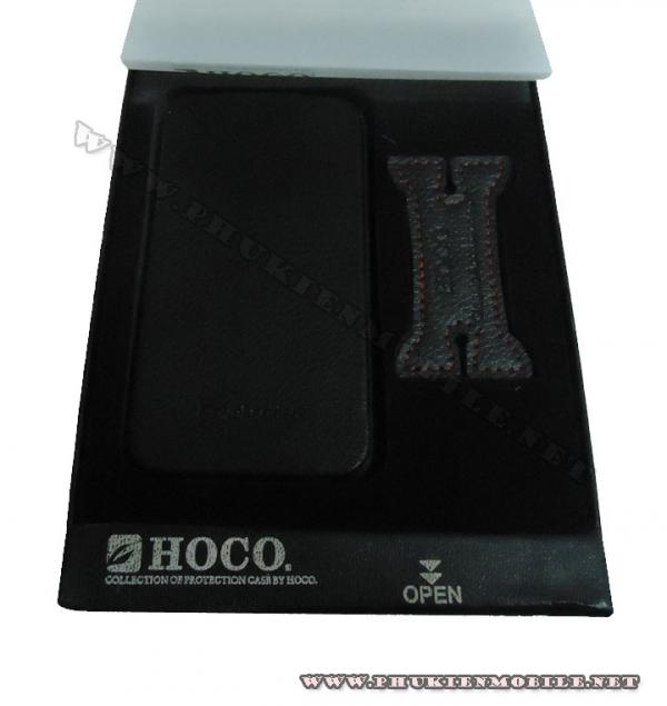 Bao da iPhone 4 Hoco Skin Case (Đen) 5