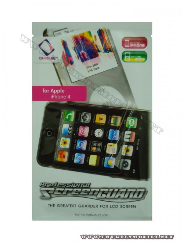 Miếng dán bảo vệ màn hình iPhone 4 Capdase 1 mặt 1