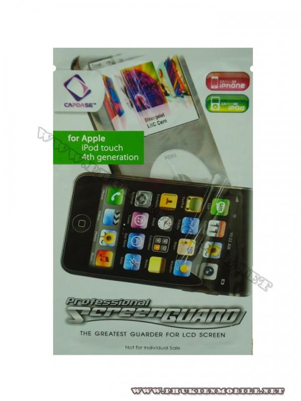 Miếng dán bảo vệ màn hình iPod touch gen 4 Capdase 1 mặt 1