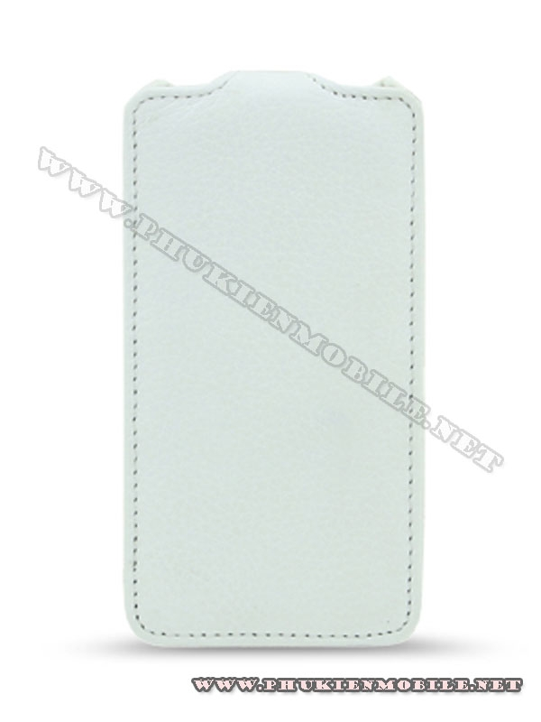 Bao da iPhone 4 Melkco Leather Case - Jacka Type Mầu trắng 1