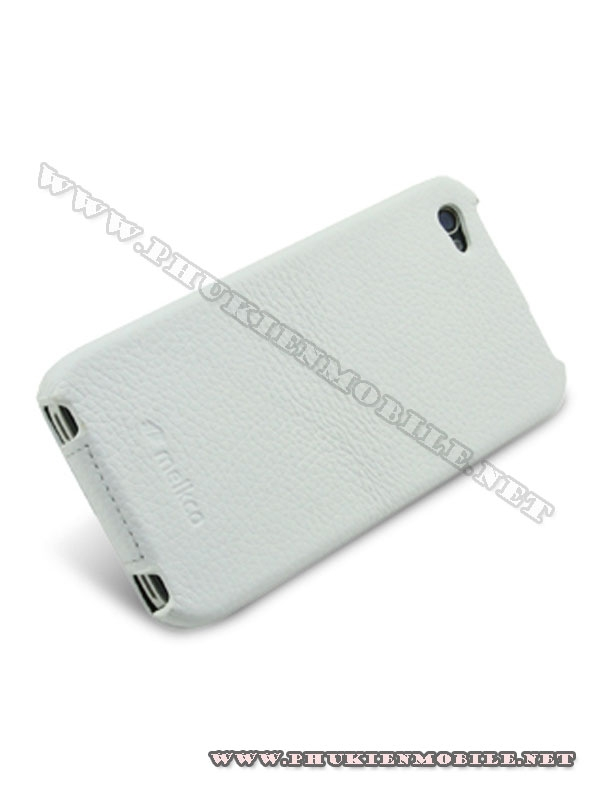 Bao da iPhone 4 Melkco Leather Case - Jacka Type Mầu trắng 4