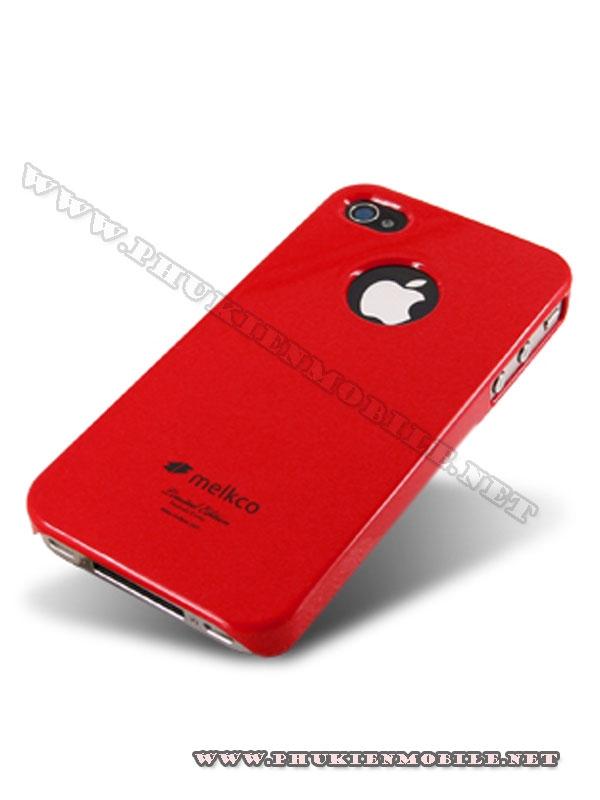 Ốp lưng iPhone 4 Melkco Formula Cover màu đỏ 2