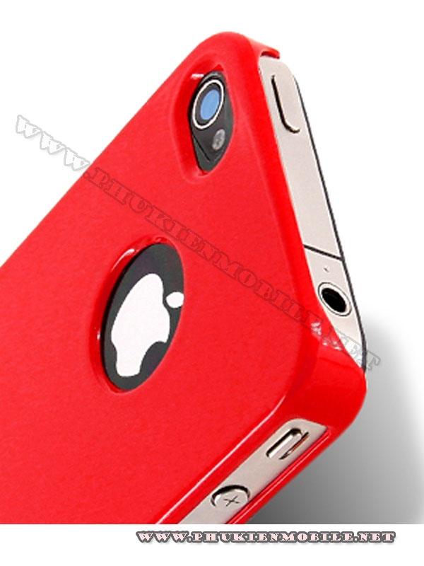 Ốp lưng iPhone 4 Melkco Formula Cover màu đỏ 3