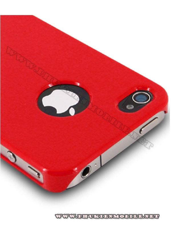 Ốp lưng iPhone 4 Melkco Formula Cover màu đỏ 4