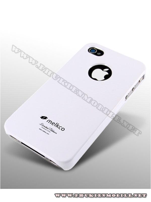 Ốp lưng iPhone 4 Melkco Formula Cover màu trắng 2