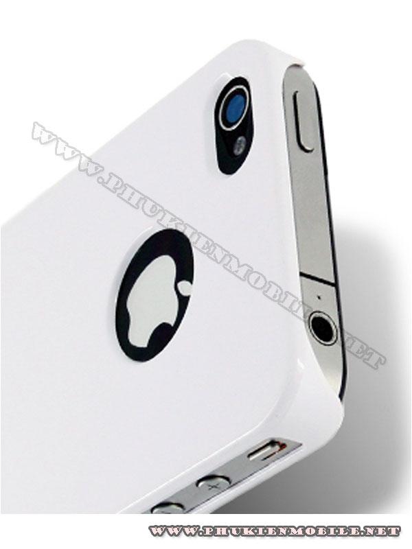 Ốp lưng iPhone 4 Melkco Formula Cover màu trắng 3