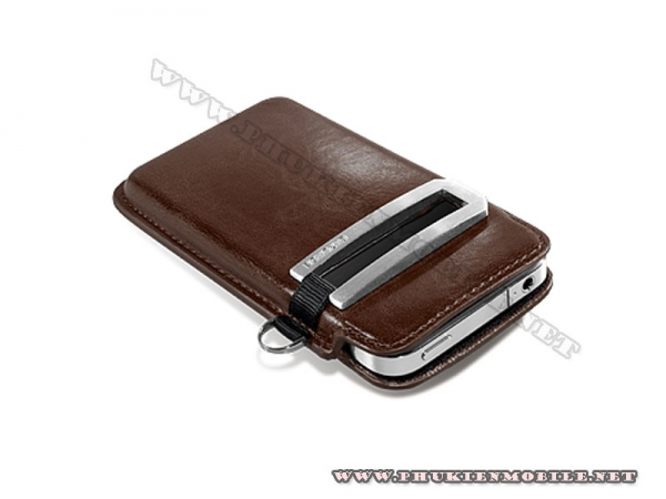 Bao cầm tay iPhone 4 Capdase Smart Pocket (Nâu) 2