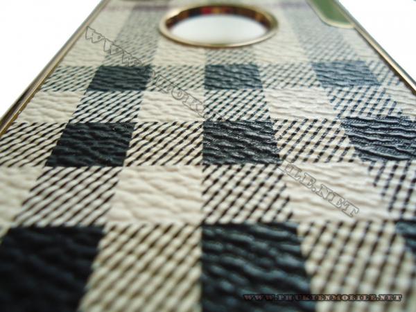 Ốp lưng iPhone 4 thời trang Plating (Bur Trắng) 3