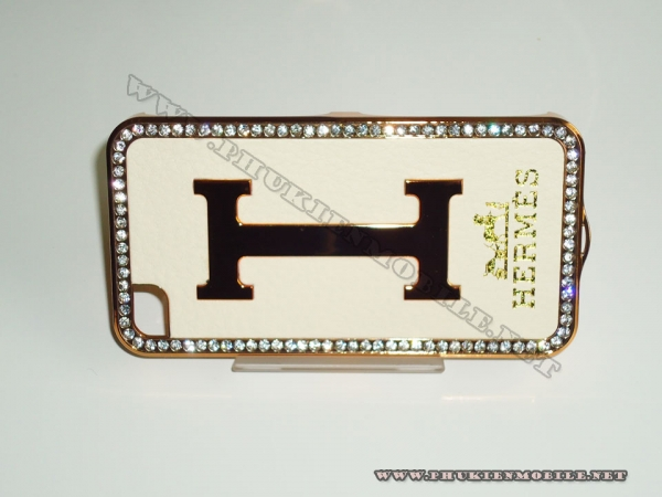 Ốp lưng iPhone 4 Hermes (Be vàng) 3
