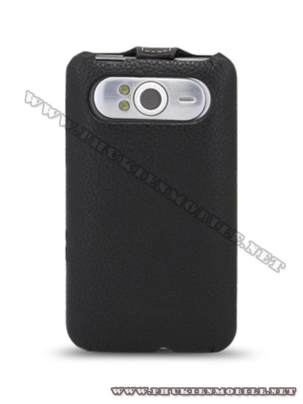 Bao lưng HTC HD7 Melkco Leather Case - Jacka Type màu đen 3