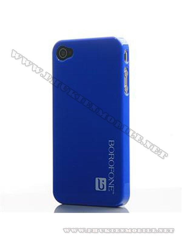 Ốp lưng iPhone 4 Borofone màu xanh 1