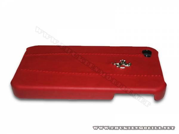 Ốp lưng iPhone 4 Ferrari Case màu đỏ 1
