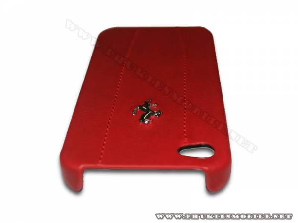 Ốp lưng iPhone 4 Ferrari Case màu đỏ 2