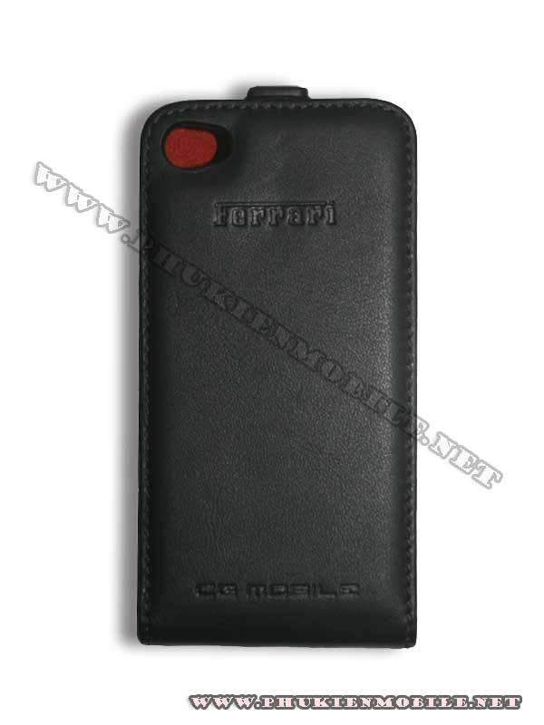 Bao da iPhone 4 Ferrari Case màu đen 1