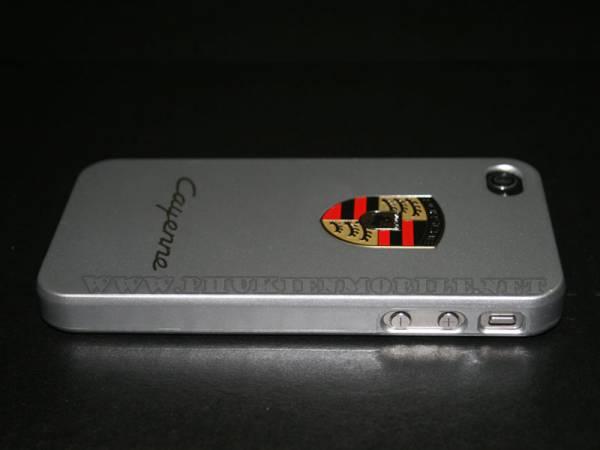 Ốp lưng iPhone 4 Porsche màu bạc 1
