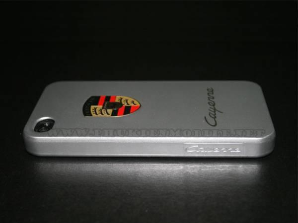 Ốp lưng iPhone 4 Porsche màu bạc 2