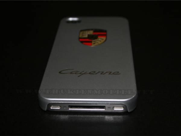 Ốp lưng iPhone 4 Porsche màu bạc 3