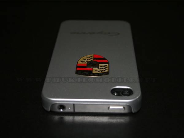 Ốp lưng iPhone 4 Porsche màu bạc 4