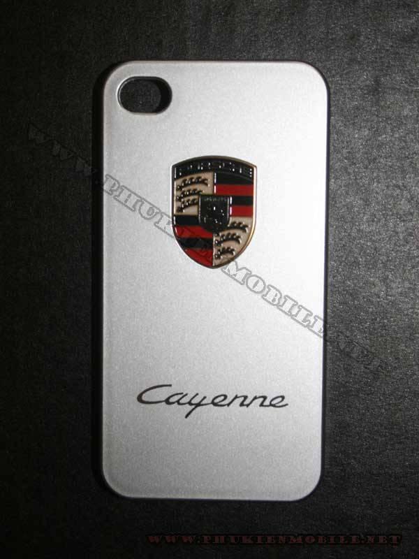 Ốp lưng iPhone 4 Porsche màu bạc 5
