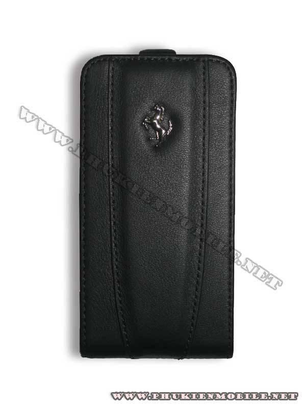 Bao da iPhone 4 Ferrari Case màu đen 2