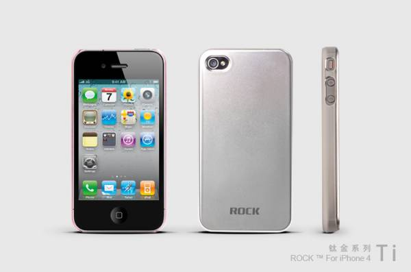 Ốp lưng iPhone Rock Titanium 3