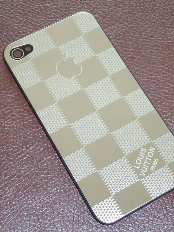 Lưng inox thời trang thay thế cho iPhone 4 2