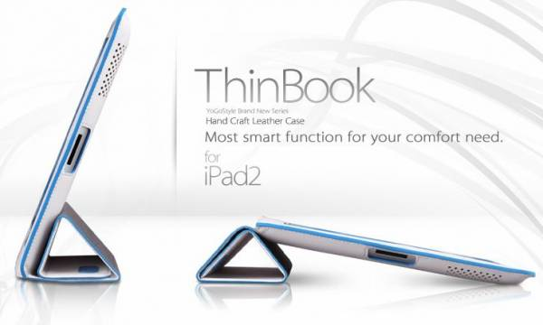 Bao da iPad 4, iPad 3 Yogo ThinBook 2