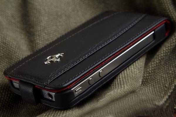 Bao da iPhone 4 Ferrari Case màu đen 8