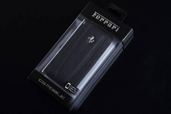 Bao da iPhone 4 Ferrari Case màu đen 9