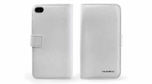 Bao da iPhone 4 mở ngang Nuoku 2